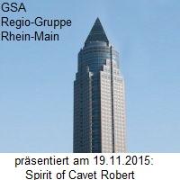 Speaker treffen Speaker, bei der GSA-Regio-Gruppe Rhein-Main
